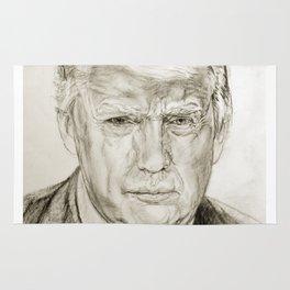 President Donald J Trump by Lydia sturges Rug