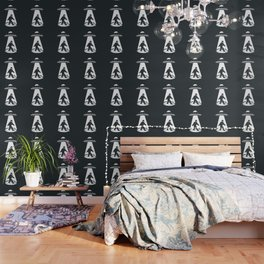 Bigfoot abducted by UFO Wallpaper