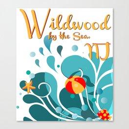 Oh Those Wildwood Daze Canvas Print