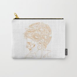 Sunflowers in my head Carry-All Pouch