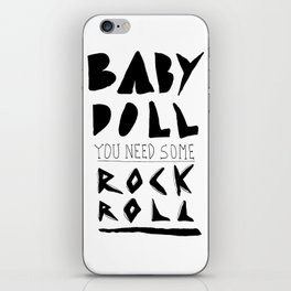 Baby Doll iPhone Skin