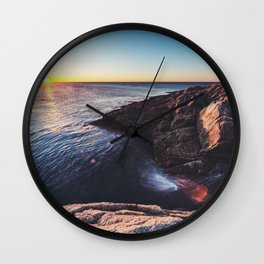 Rise in the East Wall Clock