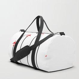Retro Airplanes 12 Duffle Bag