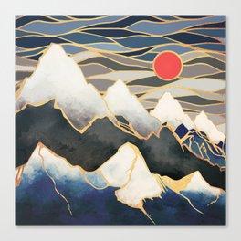Ice Mountains Canvas Print