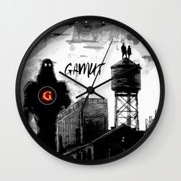 Gamut Wall Clock