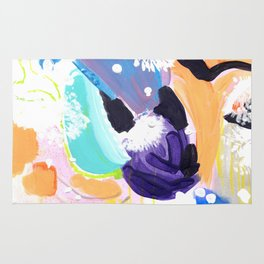 Abstract Happyness Rug
