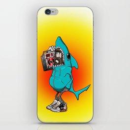 Shark Dude iPhone Skin