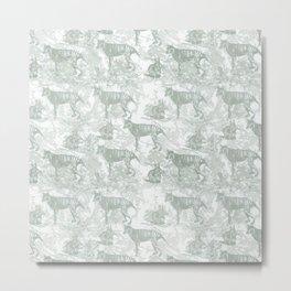 Tasmanian Tiger Metal Print