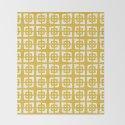Mid Century Modern Pattern 271 Mustard Yellow by tonymagner