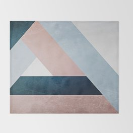 Complex Triangle Throw Blanket