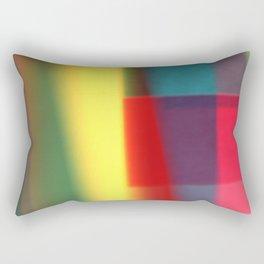 Colored blured pattern Rectangular Pillow