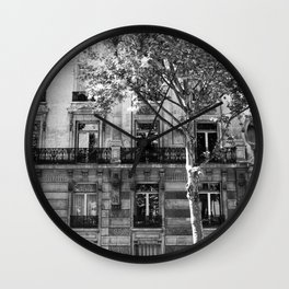 Paris Being Classy Wall Clock