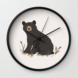 Black Bear Wall Clock