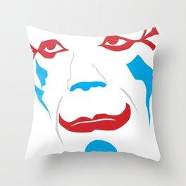 Laugh Clown Laugh Throw Pillow