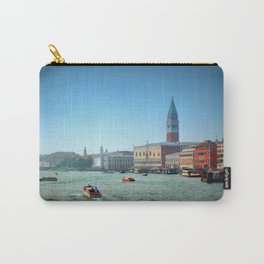 Approaching St Marks Square, Venice, Italy Carry-All Pouch