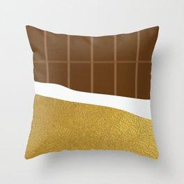chocolate yum! Throw Pillow