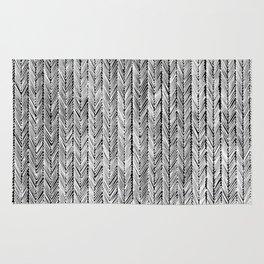Ink Weaves: Grey Opal Rug