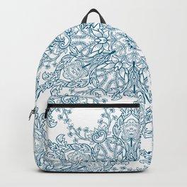 Spring Garden Mandala Backpack