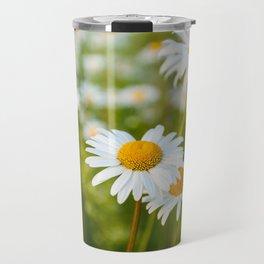 Camomile Summer Meadow Sunny Day Travel Mug