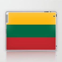 Flag: Lithuania Laptop & iPad Skin