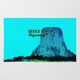 Devils Tower Wyoming Rug