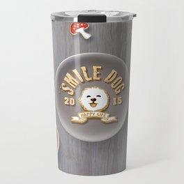 SmileDog Icing Cookies Travel Mug
