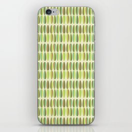 Mirnd Century Modern Green Seamless Patte iPhone Skin