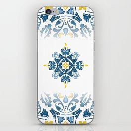 Portuguese tile iPhone Skin