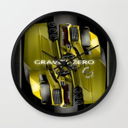 The Super Truck- Accessories & Tees Wall Clock