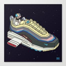 Space sneaker 1 Canvas Print