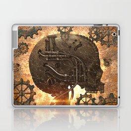 Steampunk, skull Laptop & iPad Skin