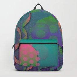 Polka Dot Jellyfish Backpack