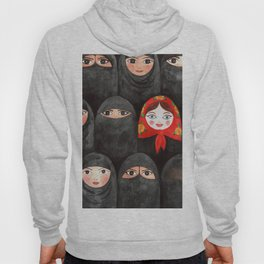 RUSSIAN IN ARABIC WORLD Hoody