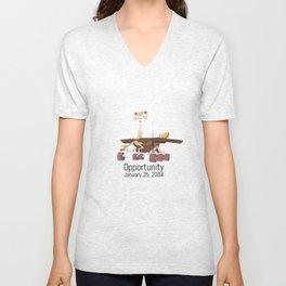 Opportunity Rover Unisex V-Neck