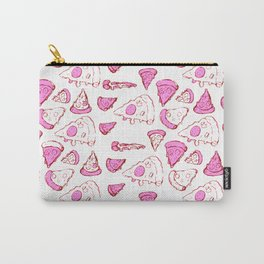Perfect Pencil Pizza Time in Pink Carry-All Pouch