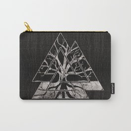 Valknut Symbol and Tree of life  -Yggdrasil Carry-All Pouch
