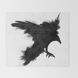 I Welcome The Valkyries Throw Blanket