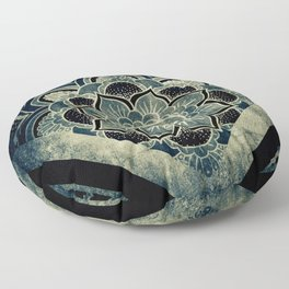 Sacred Geometry for your daily life - ESOTERIC ALEPH KYBALION EYE Floor Pillow