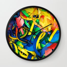 Serpentina Wall Clock