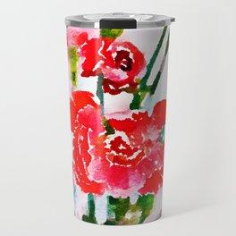 Red Blossom #society6artprint #decor #buyart Travel Mug