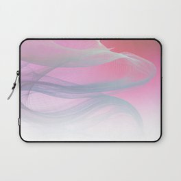 Flow Motion Vibes 1. Pink, Violet and Grey Laptop Sleeve