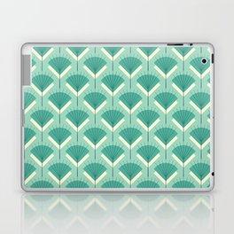 Mid-century Modern Radio Antenna Pattern / Teal Laptop & iPad Skin