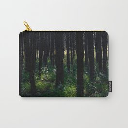 Parallel Forest Carry-All Pouch