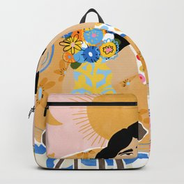 Cozy saturday evening Backpack
