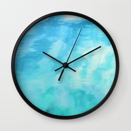 Water Fantasia #decor #buyart #society6 Wall Clock