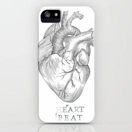 heartbeat iPhone Case
