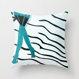 KinkyABC T is for Trampling Throw Pillow