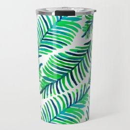 Palm Solace #society6 #buyart #decor Travel Mug