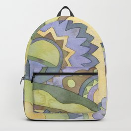 Mandala Circus2 Backpack