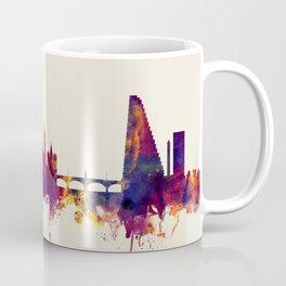 Basel Switzerland Skyline Coffee Mug
